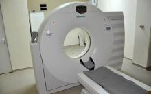 16-срезов компютърен томограф Somatom Emotion от Siemens