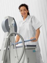 Мобилният графичен рентгенов апарат Polymobil Plus от Siemens